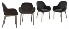 Kartell set of 4 chairs Clap 4181