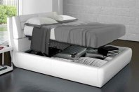 Target Point bed Roma 180 matrimonial with container Easy Lift