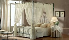 Target Point bed Katherine with canopy single