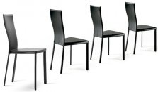 Cattelan Italia set of 4 chairs Nina XL