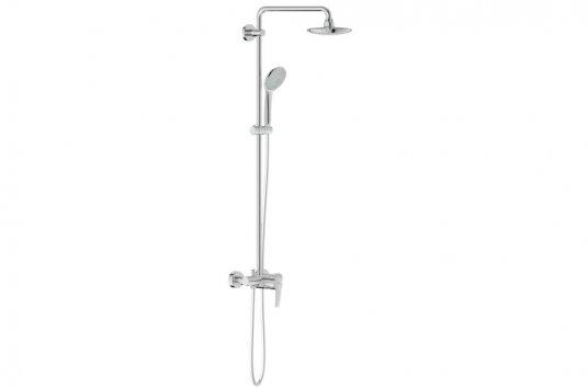 grohe euphoria system 180 duschsystem mit einhandmischer. Black Bedroom Furniture Sets. Home Design Ideas