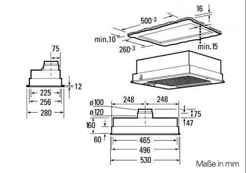 siemens lb23364 einbauhauben. Black Bedroom Furniture Sets. Home Design Ideas