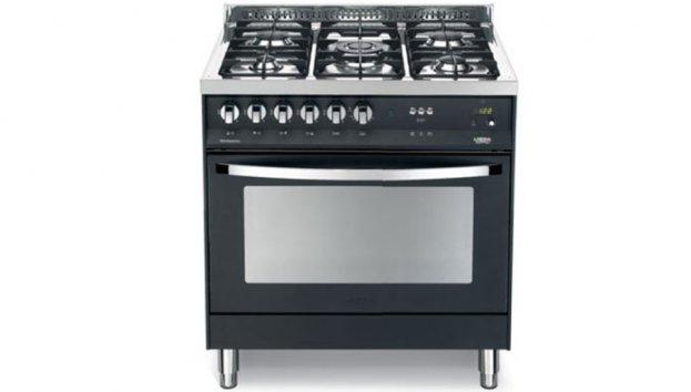 lofra pnmg96mft c schwarz matt 60060032 standherde. Black Bedroom Furniture Sets. Home Design Ideas