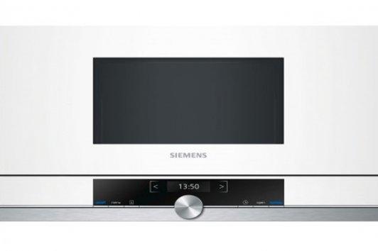 Siemens bf634lgw1 mikrowelle eingebaute for Eingebaute mikrowelle