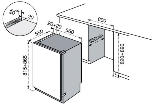 electrolux fi1541 k hlschr nke eingebaute. Black Bedroom Furniture Sets. Home Design Ideas