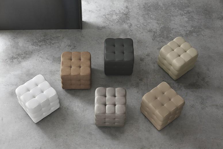 target point pouf cube pouf und kissen. Black Bedroom Furniture Sets. Home Design Ideas