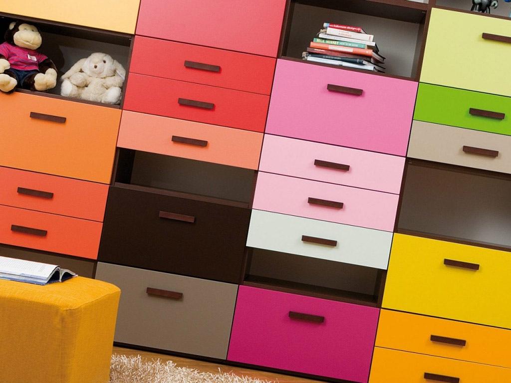 Dearkids Mehrfarbig Schrank und Regale - Bücherregale