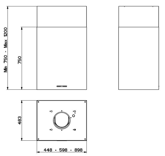 Faber Cubia Isola EG10 X A45 Active - 110.0157.068 - Inselhauben
