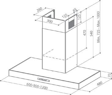 faber gemma x a90 wandhauben. Black Bedroom Furniture Sets. Home Design Ideas