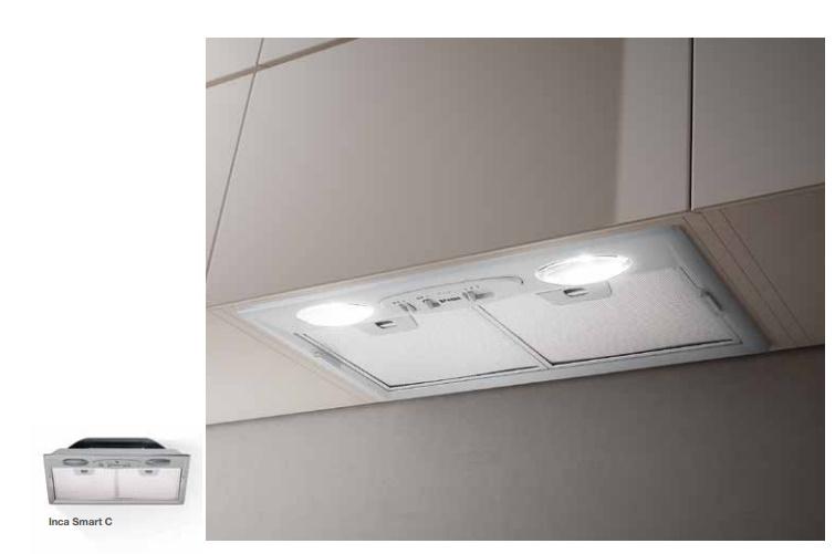 faber inca smart c gr a70 einbauhauben. Black Bedroom Furniture Sets. Home Design Ideas