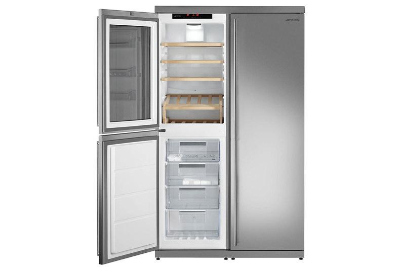 Smeg WF354LX - Side-by-Side Kühlschränke
