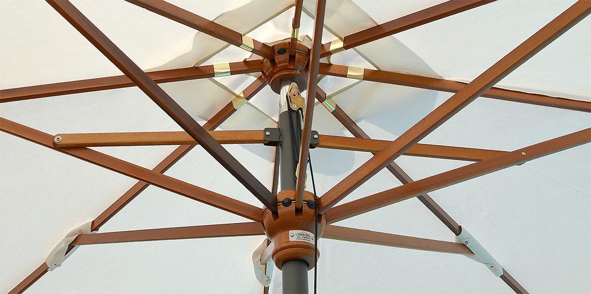 il parco facility wood sonnenschirme. Black Bedroom Furniture Sets. Home Design Ideas
