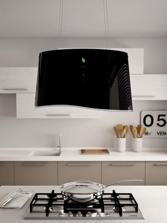 falmec mare e ion is schwarz. Black Bedroom Furniture Sets. Home Design Ideas