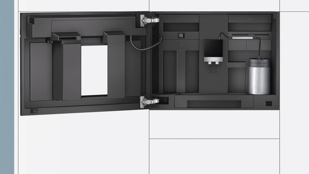 siemens ct636les1 kaffeemaschine eingebaute. Black Bedroom Furniture Sets. Home Design Ideas