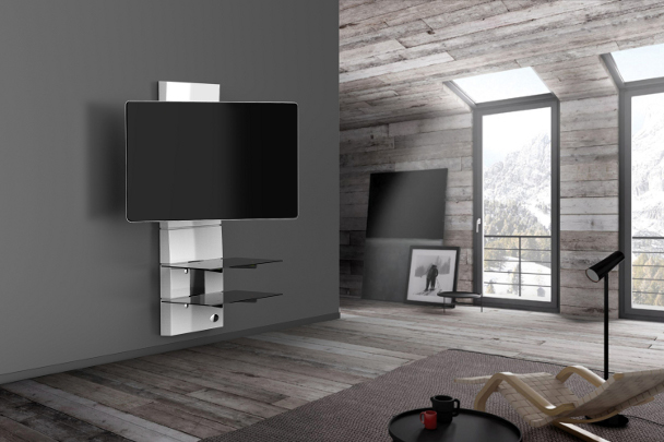 meliconi ghost design 3000 rotation tv st nder. Black Bedroom Furniture Sets. Home Design Ideas