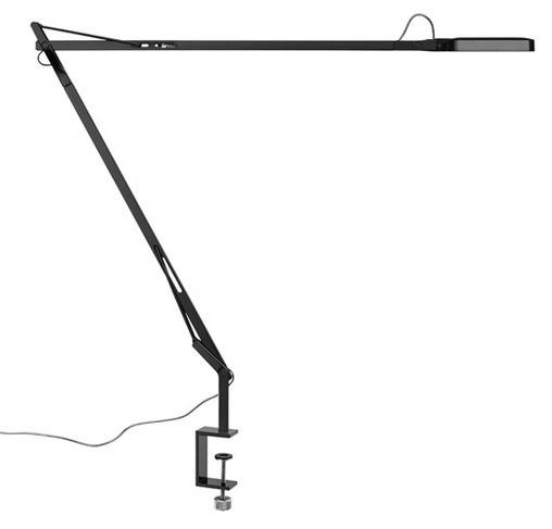 flos kelvin led with c clamp tischlampen. Black Bedroom Furniture Sets. Home Design Ideas