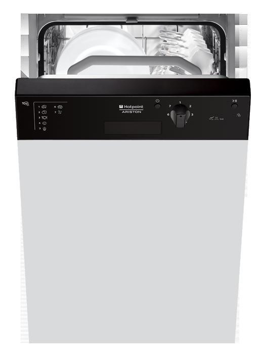 Hotpoint-Ariston LSP 720 AB - Spülmaschine - Eingebaut