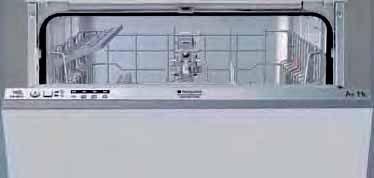 Hotpoint Ariston LTB 4B019 EU - Spülmaschine - Eingebaut