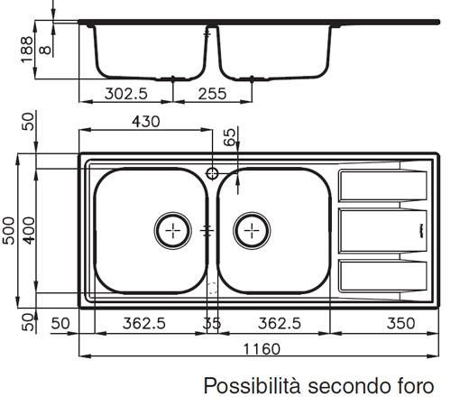 foster serie fm 1972 461 462 sp len aus edelstahl. Black Bedroom Furniture Sets. Home Design Ideas