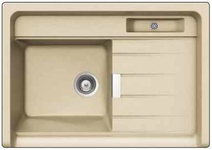 schock largo m100 synthetische sinkt. Black Bedroom Furniture Sets. Home Design Ideas