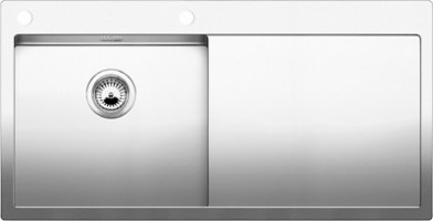 blanco claron 5 s if becken links sp len aus edelstahl. Black Bedroom Furniture Sets. Home Design Ideas