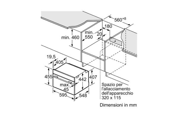 Siemens cn678g4s6 mikrowelle eingebaute for Eingebaute mikrowelle