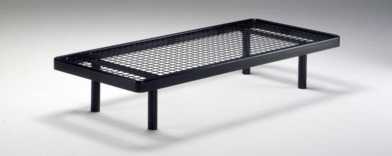 Einzelbett theta metall sprungrahmen for Einzelbett metall
