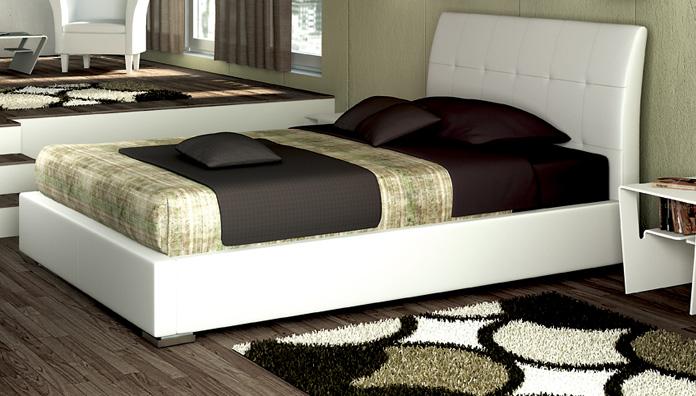 Target Point Bett Asolo halbgefüllt mit Container - Semi-Doppelbetten