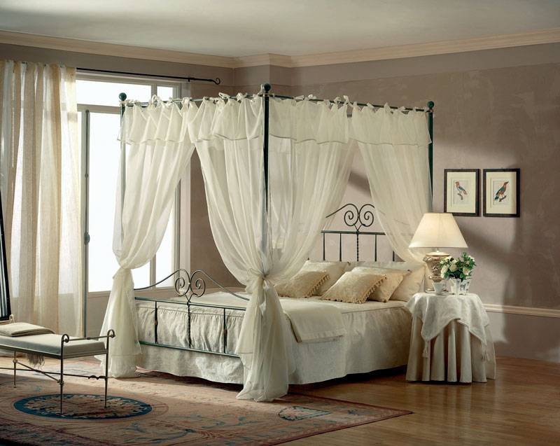 target point bett katherine mit baldachin einfach betten. Black Bedroom Furniture Sets. Home Design Ideas