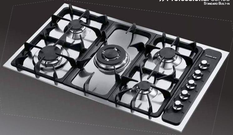 Foster Serie Professionali - 7055 052 - Gas-Kochfelder