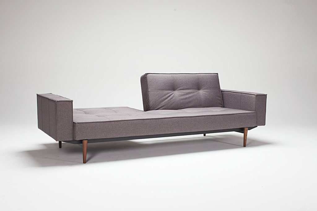 Innovation splitback couch bett mit braccioli sofas for Couch mit bett