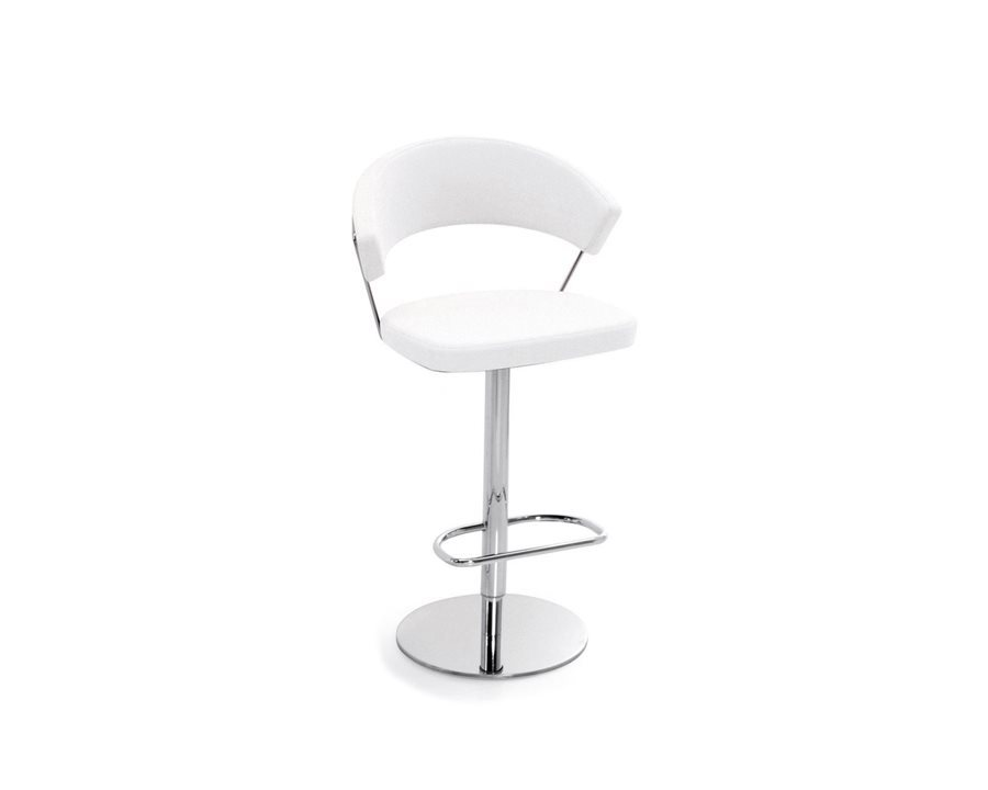 connubia calligaris new york leather cb 1088 lh hocker. Black Bedroom Furniture Sets. Home Design Ideas