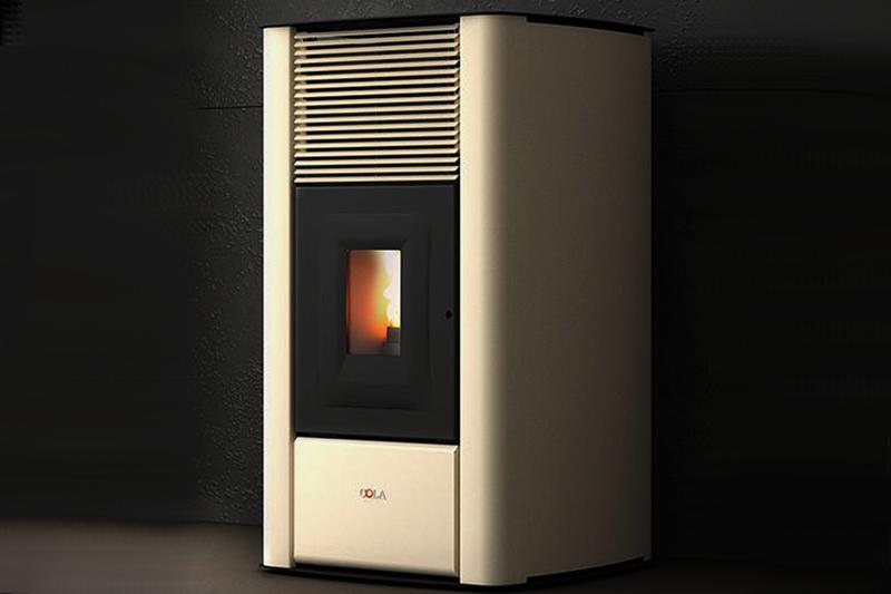 Anselmo Cola Mirage - Thermoöfen zu pellet