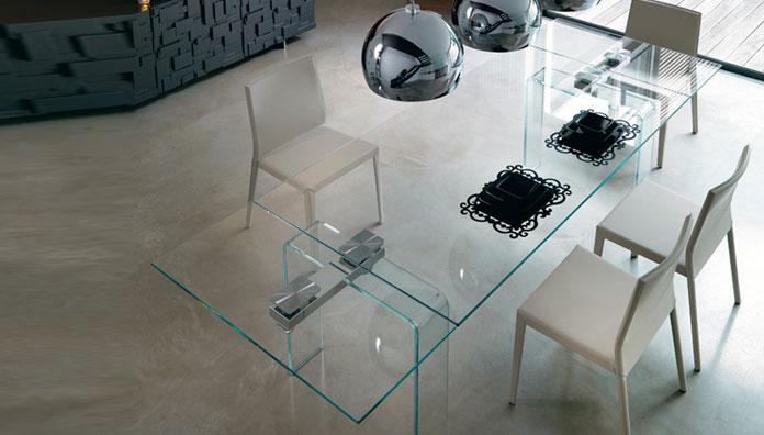 Seitlich ausziehbare preis vergleich 2016 - Tavoli in cristallo allungabili cattelan ...