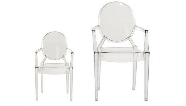 kartell lou lou ghost 2852 2853 sessel. Black Bedroom Furniture Sets. Home Design Ideas