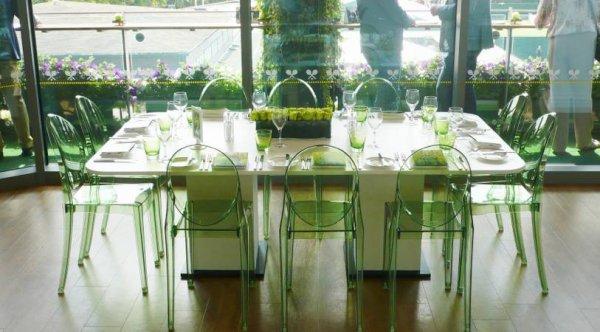 Kartell Set mit 4 Stühle Victoria Ghost - Set 4 Stühle