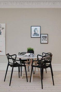 Kartell Set mit 4 Stühle Masters - Set 4 Stühle