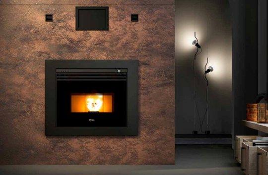 anselmo cola top fire 80 leitung pellet kamine. Black Bedroom Furniture Sets. Home Design Ideas