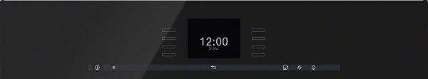 miele dgc 6600 xl obsidian black oven. Black Bedroom Furniture Sets. Home Design Ideas
