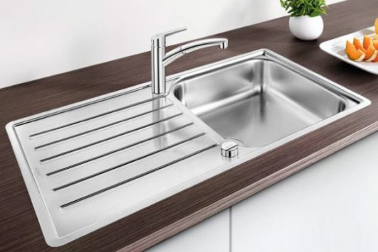 blanco lantos xl 6 s if stainless steel sink. Black Bedroom Furniture Sets. Home Design Ideas