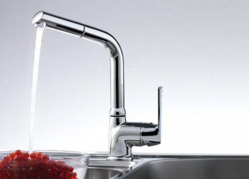 Franke zodiaco doccia chrome kitchen faucet for Rubinetti franke cucina