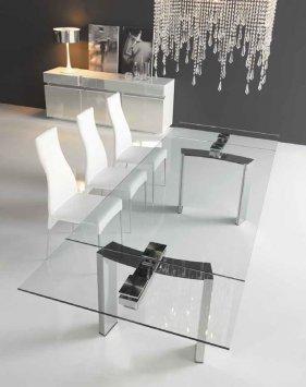 Cattelan italia table extensible daytona 140x80 daytona - Petite table extensible ...
