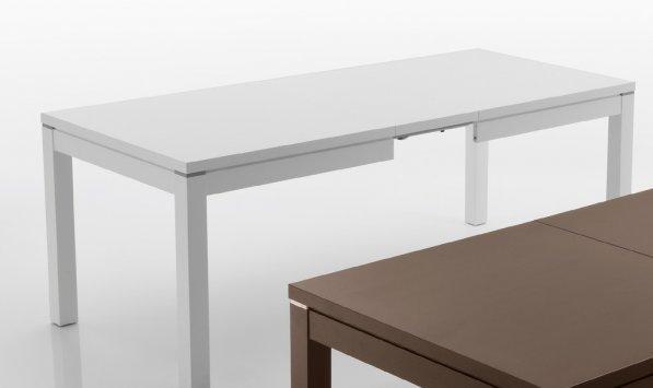 Eurosedia nevada impiallacciato 423 table for Table 70x70 extensible