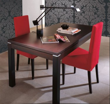 Eurosedia nevada nobilitato 825 nevada 825 table for Table 70x70 extensible