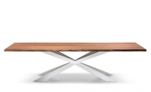 Cattelan italia table fixed spyder 200x100 table for Table 200x100