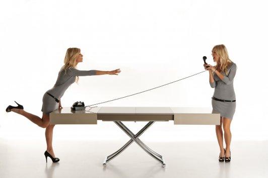Ozzio Design T110 Box  T110Box  Convertible Table