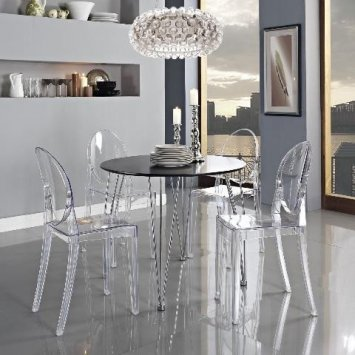 Kartell Chaise Ghost. Finest Chaise Victoria Ghost Kartell Cristal ...