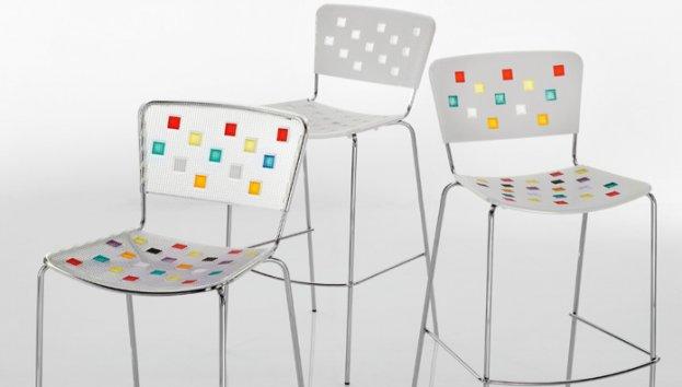 Eurosedia sgabello tiffany 007 stool