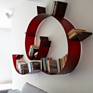 Kartell Bookworm 8005 - Wall Item