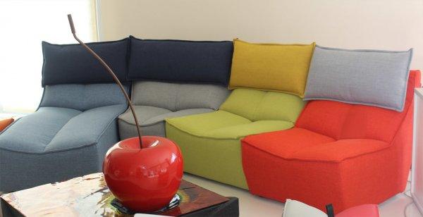 Calia Italia Hip Hop Multicolor composition - Sofa